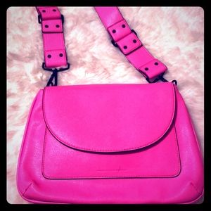 French Connection Barbie Pink Flap bag